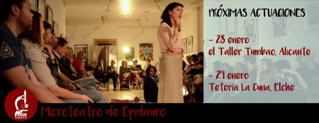 """Vuelve el Microteatro de Epidauro con dos escenas: """"La Habitación Oscura"""" Y """"Última Pregunta"""" en ESCENA"""