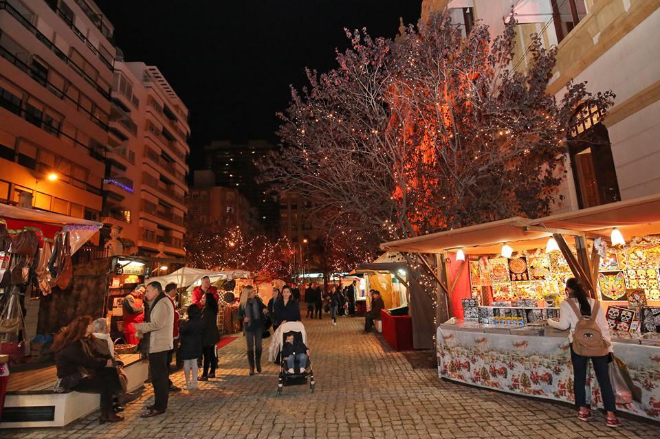 El Palacio Provincial prolonga sus actividades navideñas hasta el 7 de enero en AIRE LIBRE ARTESANIA