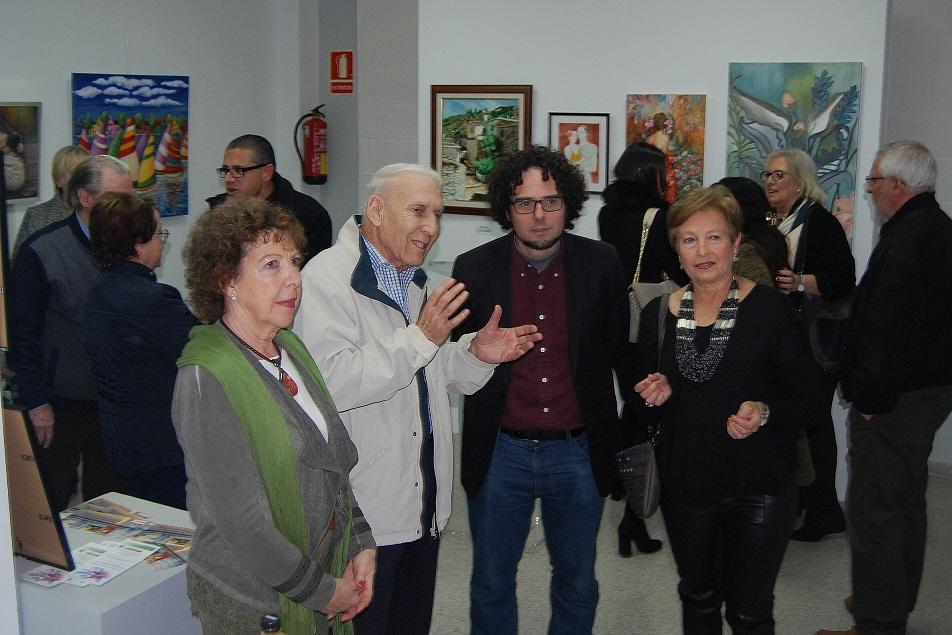 La sala Tossal se llena de artistas noveles en ARTE PINTURA