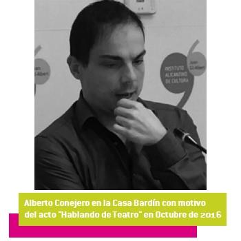 La poesía de Alberto Conejero abre el ciclo 'Alimentando lluvias 7.0' en la Casa Bardín en LETRAS