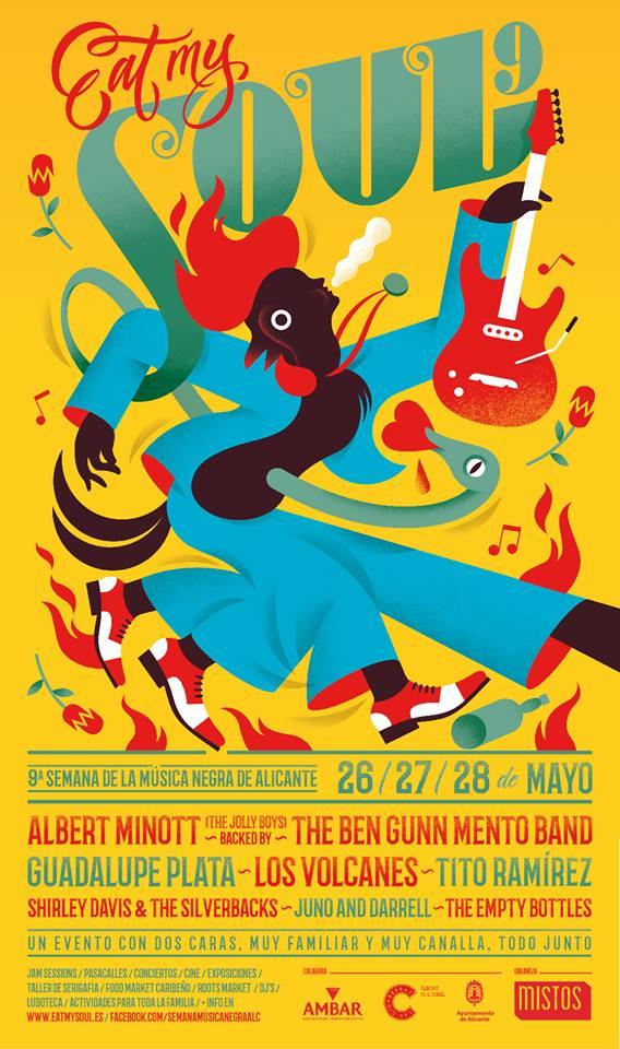 La música negra vuelve a Alicante con 'Eat my soul' en MÚSICA
