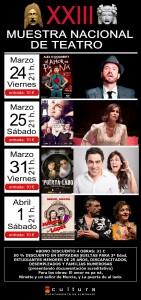 XXIII Muestra Nacional de Teatro en Almoradí en ESCENA