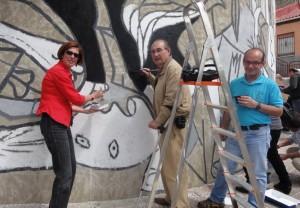 Nueva edición de los murales del barrio de San Isidro en Orihuela en AIRE LIBRE ARTE PINTURA