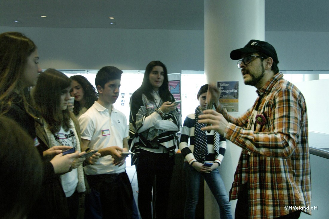 El móvil como herramienta para explorar en CINE CONFERENCIAS ESTILO DE VIDA FOTOGRAFIA