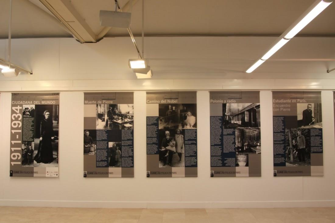 """Exposición """"María Sklodowska-Curie, una polaca en París"""" en la Sala Aifos de la Universidad de Alicante en ARTE"""