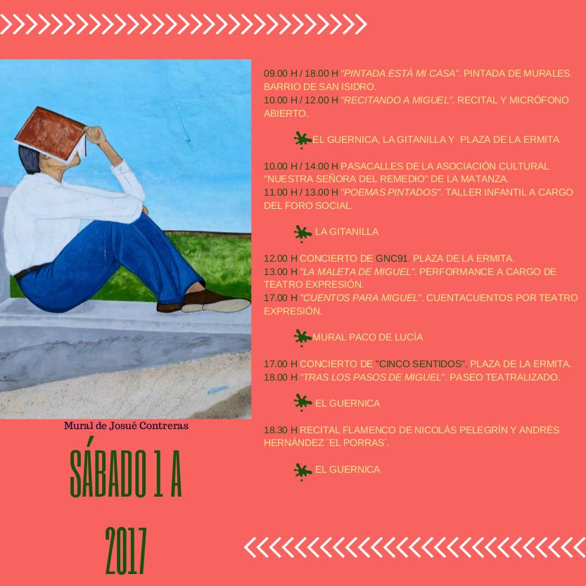 Murales de San Isidro 2017 en AIRE LIBRE ARTE ESCENA PINTURA