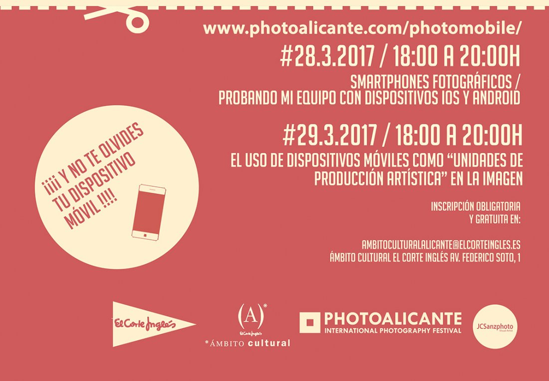 El móvil, una herramienta para hacer fotografías de concurso en CONFERENCIAS FOTOGRAFIA