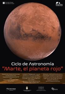"""Ciclo de astronomía """"Marte, el planeta rojo"""" en CONFERENCIAS"""