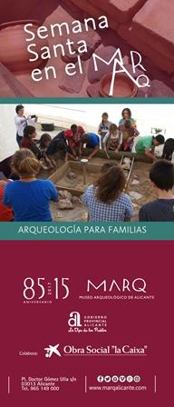 El Marq ofrece talleres de arqueología para toda la familia en ARQUEOLOGÍA