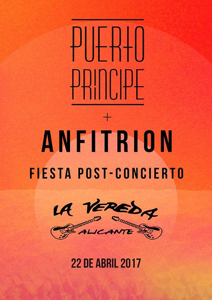 Las bandas alicantinas Puerto Príncipe y Anfitrión actúan en Stereo en MÚSICA