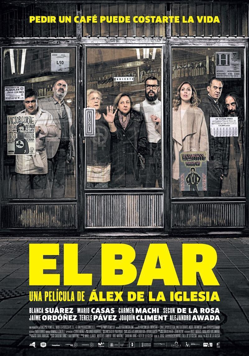 'El bar', las virtudes y excesos de Álex en CINE