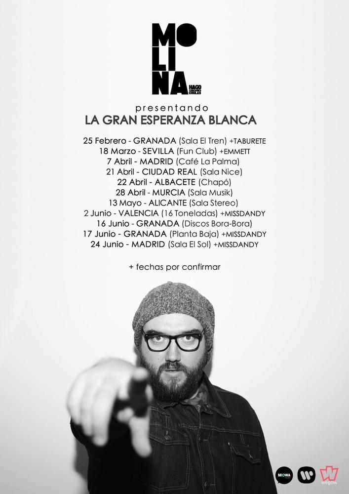 El pop redondo de Molina Molina llega a Alicante en MÚSICA