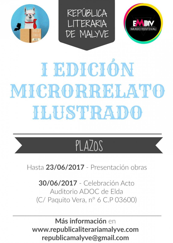 Convocado el I Concurso de Microrrelato Ilustrado 'República Literaria de Malyve' en ILUSTRACIÓN LETRAS