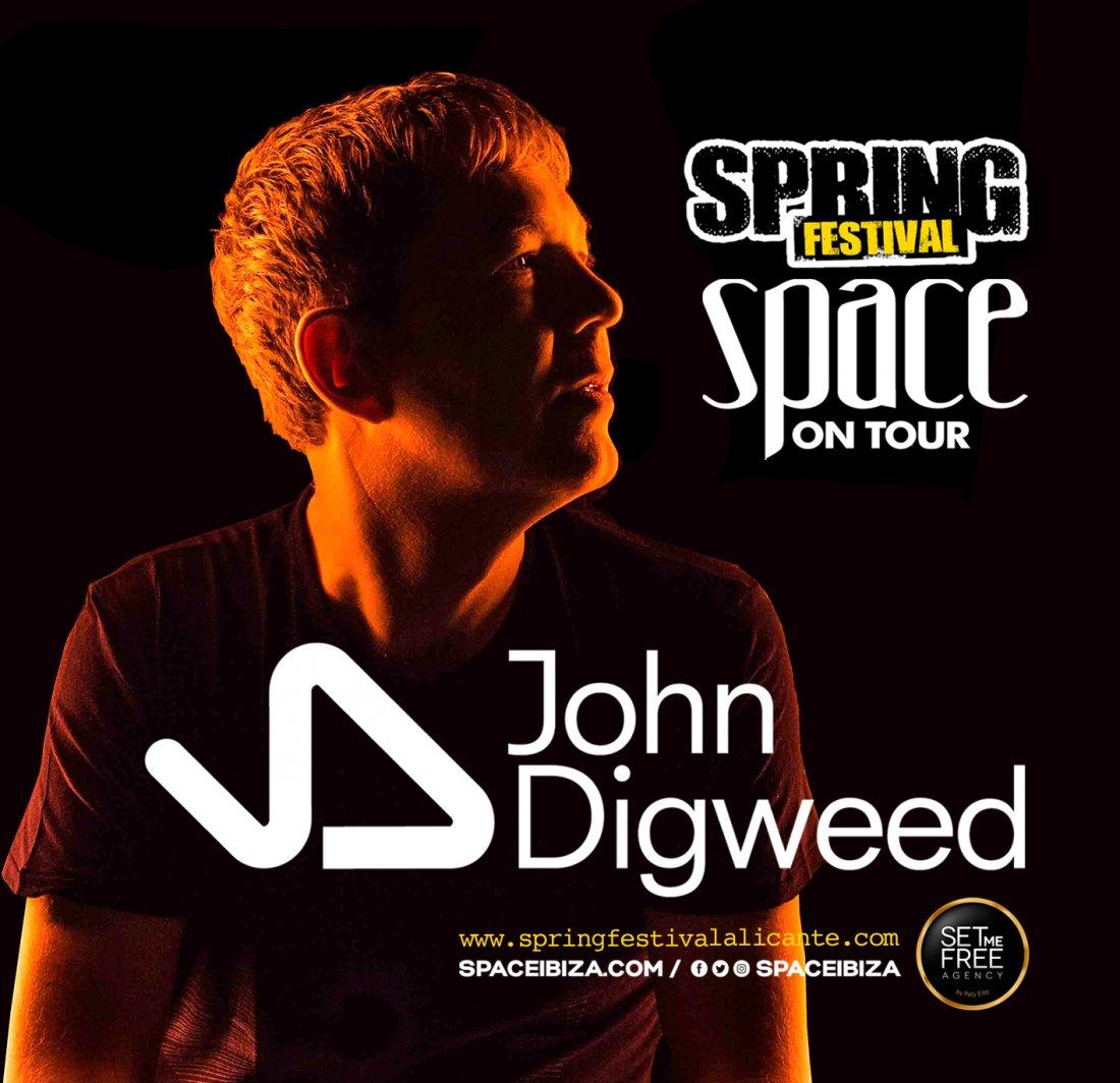 Spring Festival 2017 ficha a John Digweed, uno de los mejores DJ's del mundo en MÚSICA
