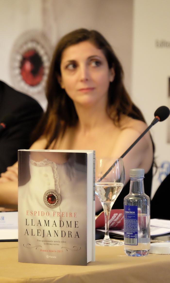 'Llamadme Alejandra', de Espido Freire, Premio Azorín ya a la venta en librerías en LETRAS