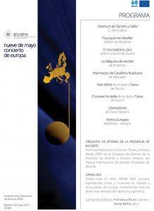 La EUIPO celebra el Día de Europa con una foto aérea y un concierto en MÚSICA