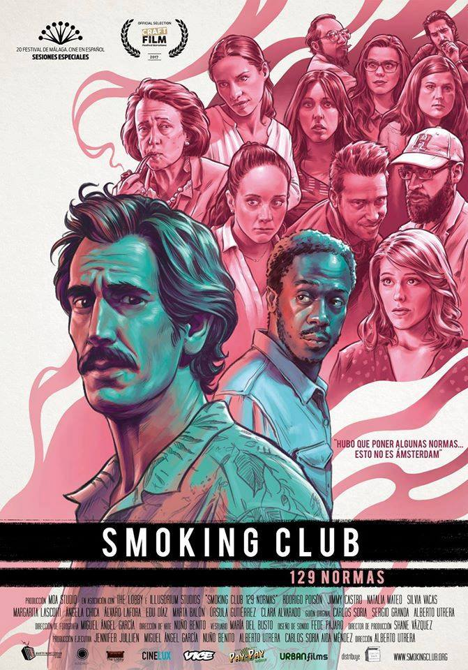 Pase único de la cinta independiente 'Smoking Club' en Panoramis en CINE