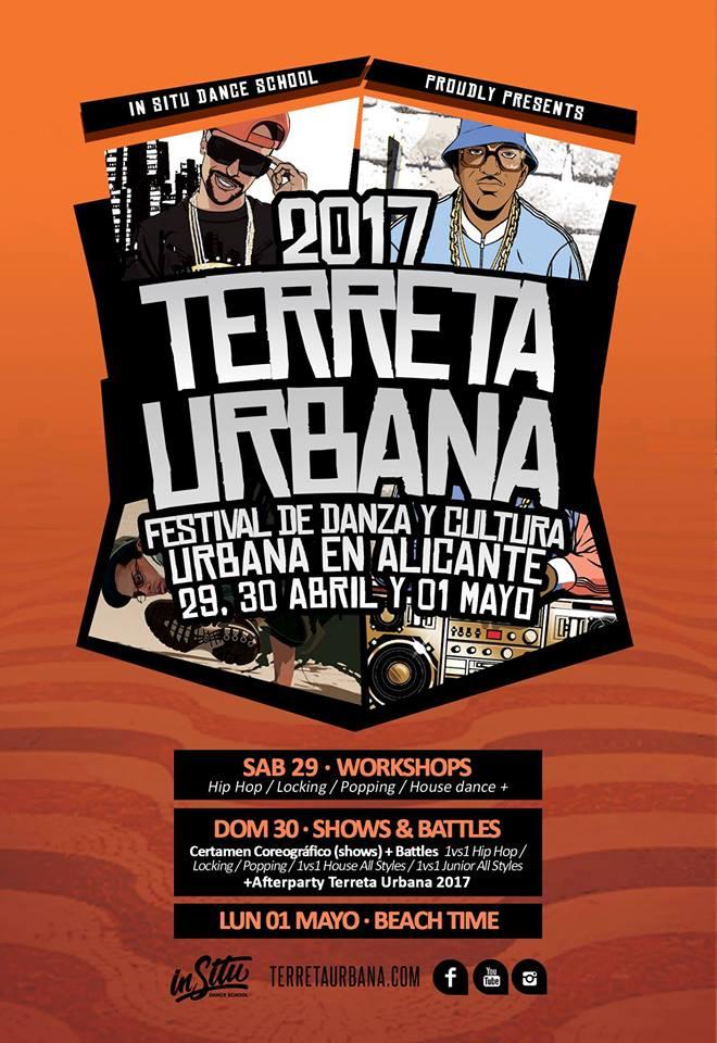 'Terreta urbana', el mejor hip hop vuelve a las calles de Alicante en ESCENA MÚSICA