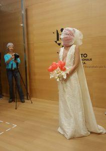 La performance reúne diferentes artes en una en ARTE