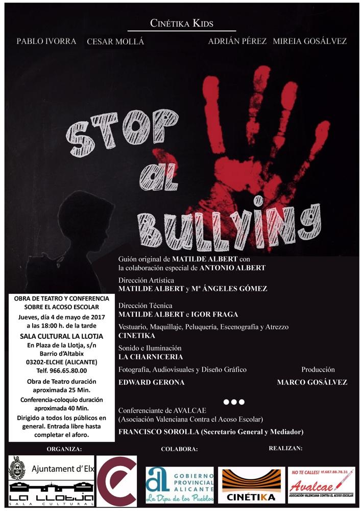 'Stop al bullying', teatro contra el acoso escolar en Elche en ESCENA