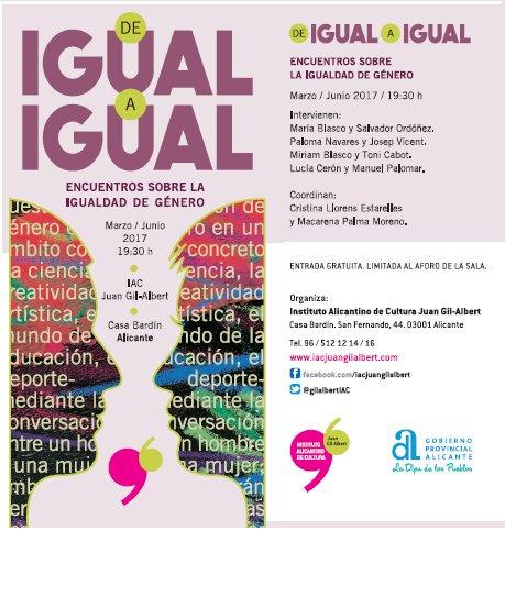 'De igual a igual', Paloma Navares y Josep Vicent hablarán de género en el arte en ARTE CONFERENCIAS