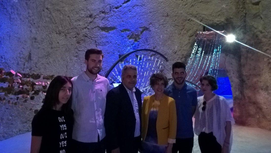 """""""Aqua Viva"""" de Arquitecturas efímeras en el Museo de Aguas de Alicante en MEDIO AMBIENTE"""