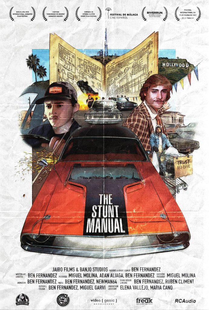 El corto de Ben Fernández 'The Stunt Manual', seleccionado en el Festival de Seattle en CINE