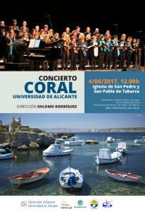 La Coral de la Universidad de Alicante actuará este domingo en Tabarca en MÚSICA