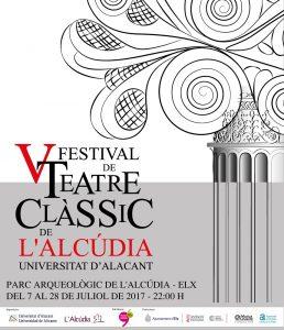 V Festival de Teatro Clásico de L'Alcúdia-UA, del 7 al 28 de julio en ESCENA