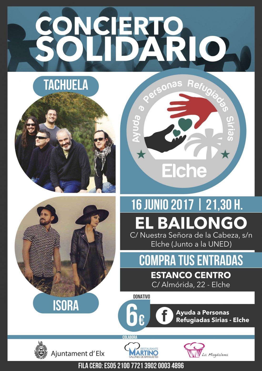 Concentración y concierto solidario por el día internacional del refugiado en AIRE LIBRE MÚSICA