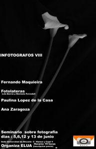 Comienza la VIII edición de Infotógrafos en la Sede Ciudad de Alicante en CONFERENCIAS FOTOGRAFIA