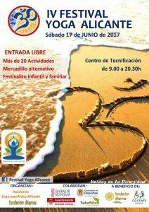 Alicante acoge el IV Festival de Yoga en AIRE LIBRE DEPORTE ESTILO DE VIDA