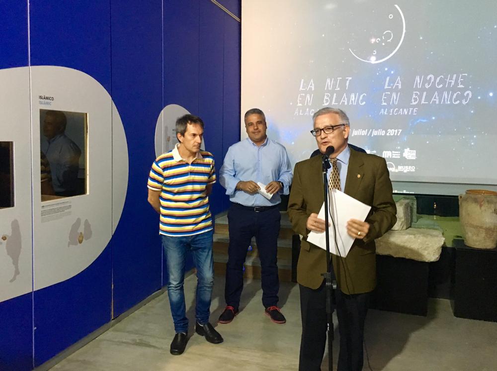 La Noche en Blanco acerca los museos a la ciudadanía en Alicante el 21 de julio en ARTE