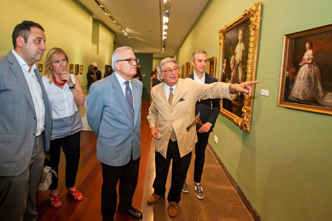 El MUBAG acoge la mayor colección sobre la saga de los Madrazo en PINTURA