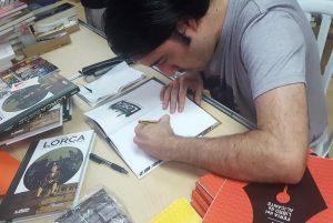 Esquembre ilustra una visión original de Lorca en NY en ILUSTRACIÓN