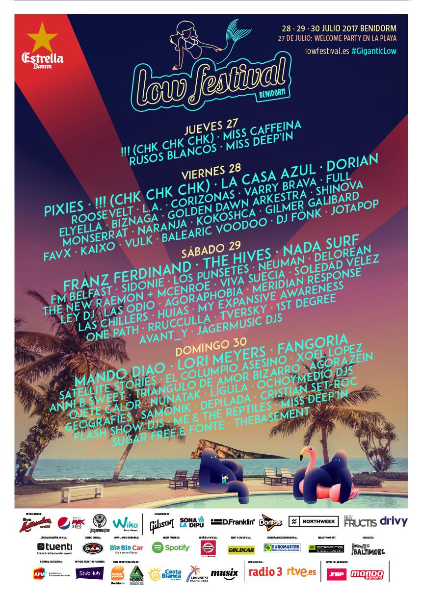 Arranca el Low Festival 2017 en Benidorm con los abonos agotados en MÚSICA