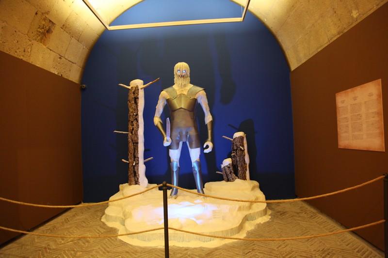 El universo de Canción de Hielo y Fuego se recrea en el Castillo de Santa Bárbara en ARTE