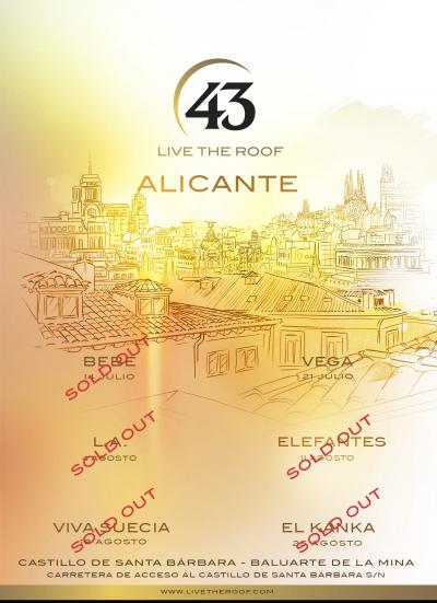 L.A. pone voz al atardecer en Alicante en MÚSICA