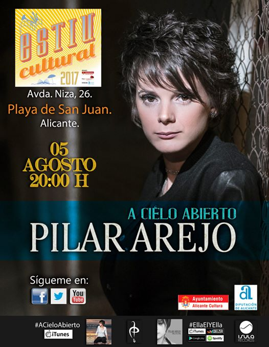 Pilar Arejo presenta 'A Cielo Abierto' en la Playa de San Juan en MÚSICA