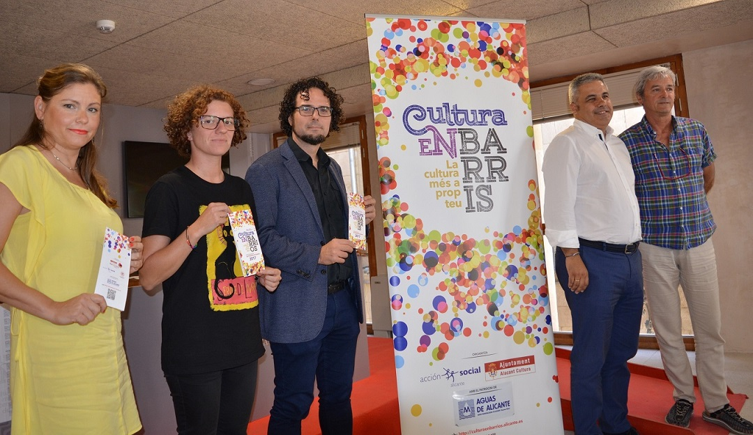 Cultura en barrios lleva 52 espectáculos a distritos y pedanías en ARTE