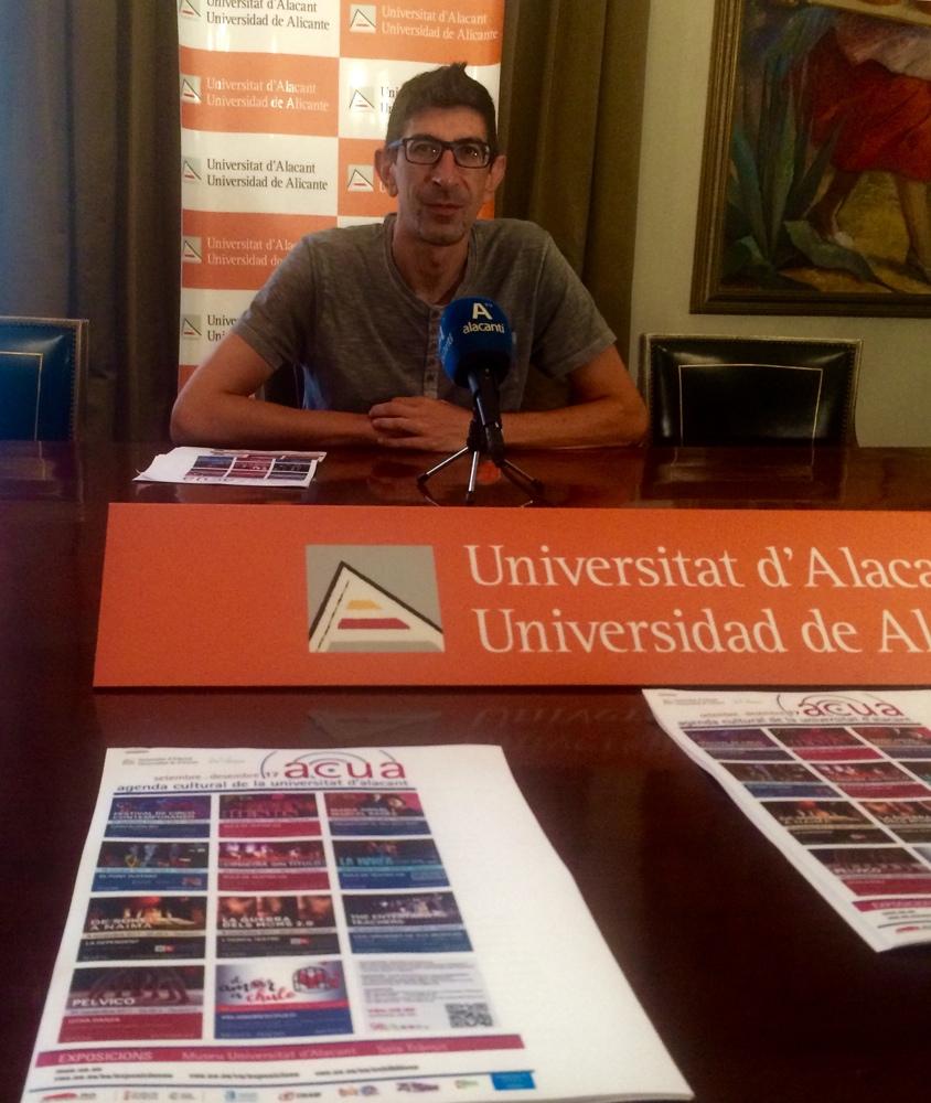 La UA propone once actividades culturales para el primer cuatrimestre del curso en ARTE ESCENA MÚSICA