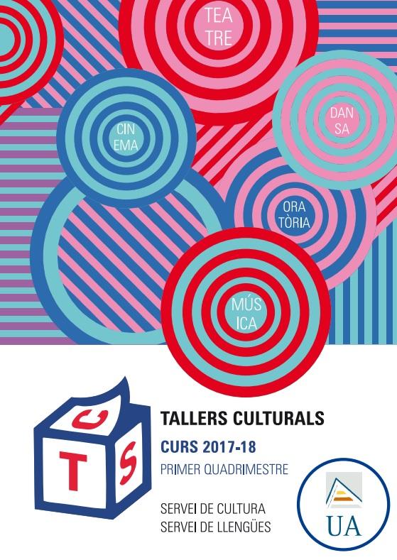 Abierta la matrícula para los talleres culturales de la UA en ARTE