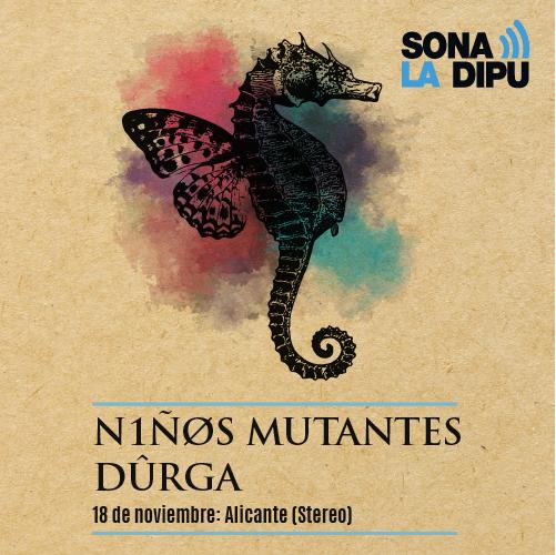 Niños Mutantes y Dûrga comparten concierto en Stereo en MÚSICA