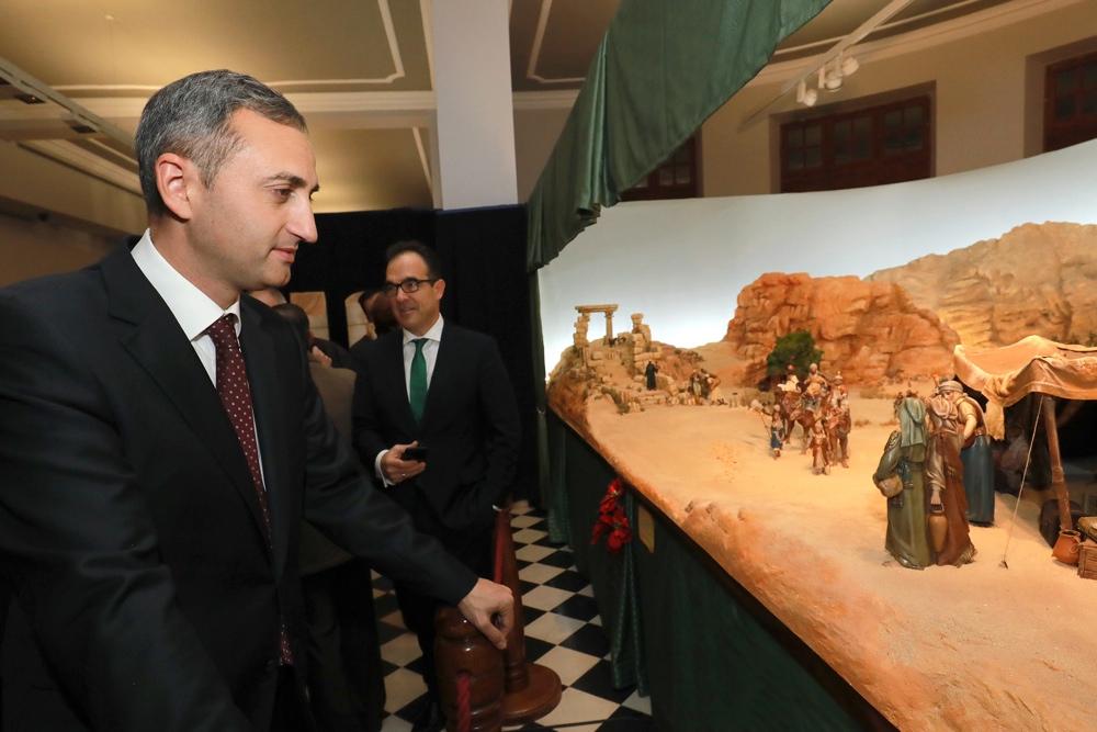 La Exposición de Belenes de la Diputación ofrece una gran panorámica de los Reyes Magos en ARTESANIA