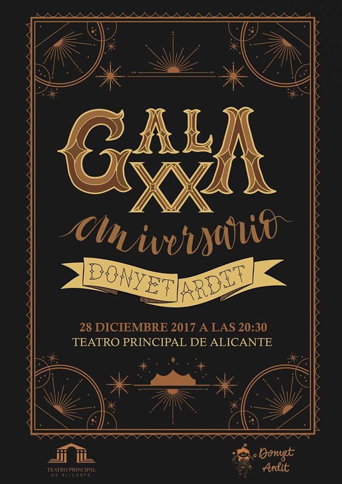 Gran Gala Donyet Ardit, 20 años promoviendo el circo en Alicante en ESCENA
