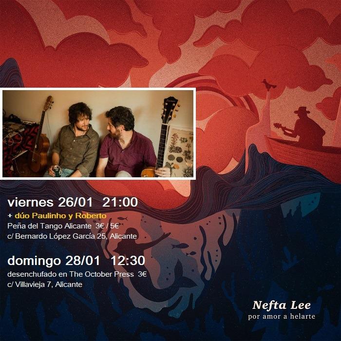 Nefta Lee presenta su nuevo disco en la Peña del Tango de Alicante en MÚSICA