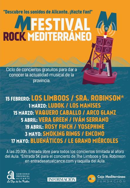 Nace 'M Festival de Rock Mediterráneo', un escaparate para las bandas locales en MÚSICA