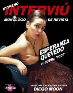 """""""Sentirme como en el salón de mi casa"""", experiencia teatral de Esperanza Quevedo en ESCENA"""