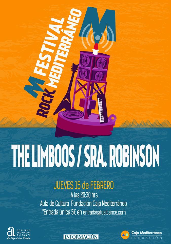 Arranca MFestival de Rock Mediterráneo con The Limboos y Sra. Robinson en MÚSICA