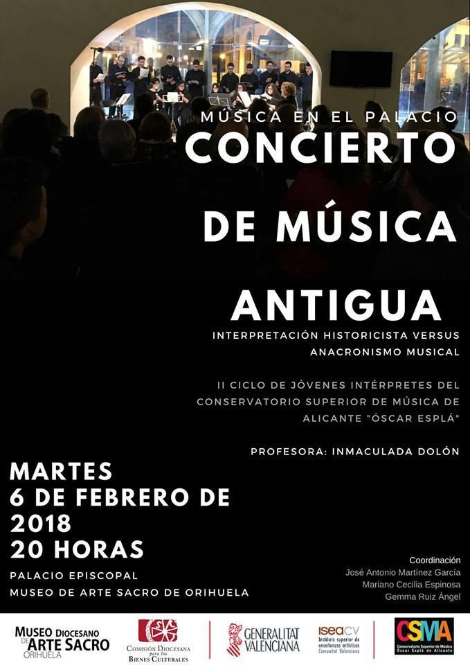 Música y arte vuelven a fusionarse en el Palacio Episcopal de Orihuela en MÚSICA
